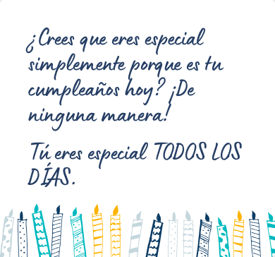 Mensaje de cumpleaños original para una amiga