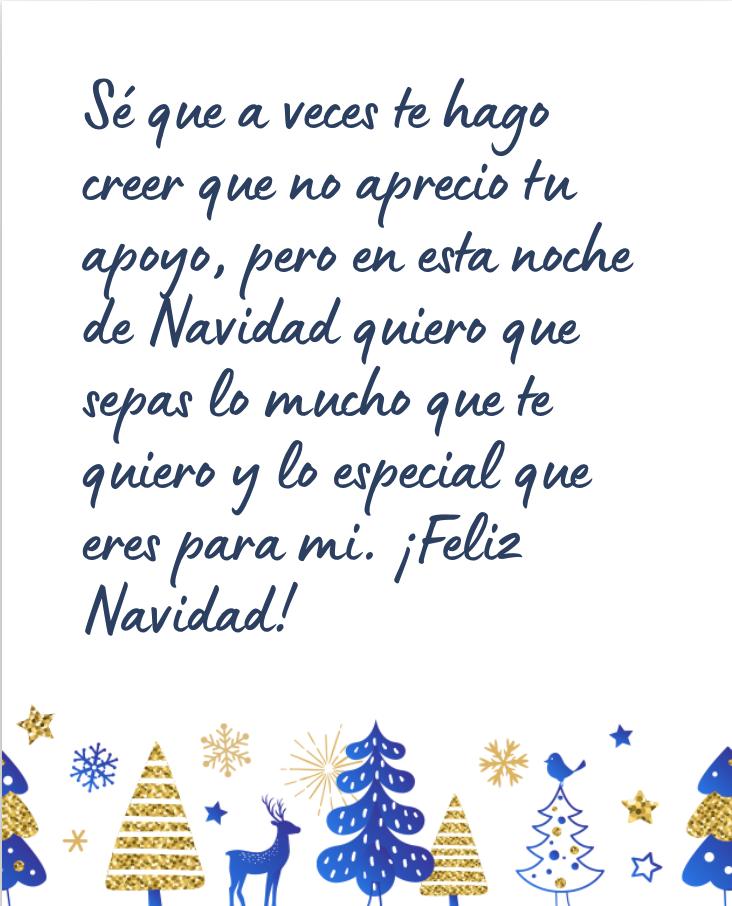 Mensaje de Navidad bonito para una amiga